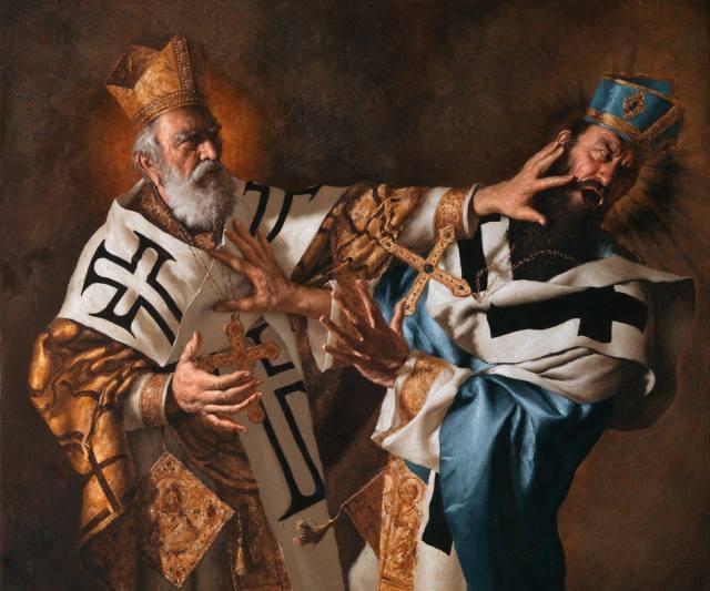 StNicholasCouncil_of_Nicaea4thCentury